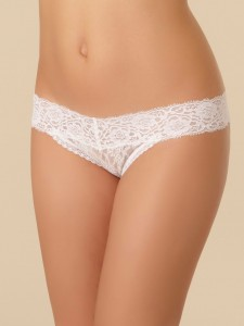 Cheekini Passionata Crazy Lace White