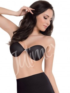 Self-Adhesive Bra Julimex Black