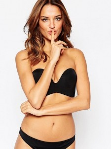 Bra Wonderbra Strapless Black