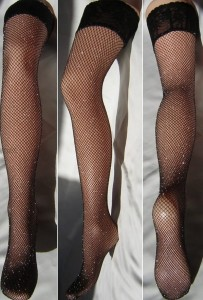 Fishnet Stockings Veneziana Ar Rete Lurex