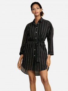 Shirt Dress Feba Black